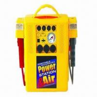 Buy cheap 3-in-1 Jump Starter with Air Compressor and Work Light from Wholesalers