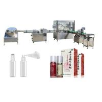 China Touch Screen Perfume Filling Machine With PLC Control System Round Bottle factory