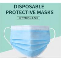 China Manufacturer CE/ FDA Medical 3Ply Earloop Mouth Mask 3 Layer Disposable 3 ply Medical Face Mask factory