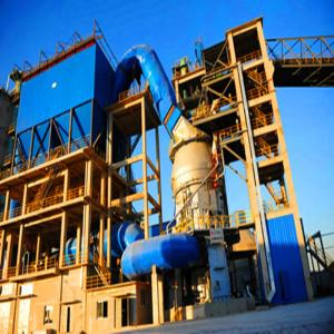 China Cement Plant AC Motor and Slag Vertical Mill with capacity 1000tpd factory