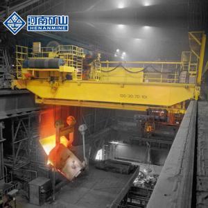 China 10.5m - 31.5m Double Girder Overhead Crane Equipment Thermal Insulation Main Girder on sale