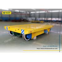 Buy cheap heavy load manufacturing industrial turning rail transfer cart from Wholesalers