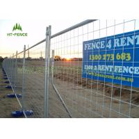 Buy cheap Hot Dipped Galvanized Temporary Fence Panels , Welded Portable Fence Panels from Wholesalers