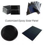 Buy cheap Custom Made Small Solar Panel , Epoxy Resin Solar Panel For Led Garden Light Battery from Wholesalers