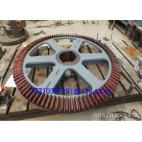 Buy cheap Foged Steel Milling Machine Tool Straight Tooth Bevel Gear Wheel from Wholesalers