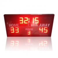 China Ultra Thin LED Electronic Basketball Scoreboard With Remote Controller factory