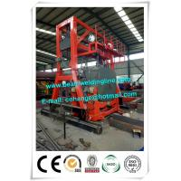 China Oil Tank Welding Rotator , Automatic Welding Positioner For Tank Seam Welding factory