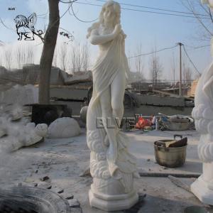 China Marble Greek Goddess Artemis Sculpture Stone Goddess Of Moon Statue factory