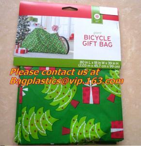 China Plastic Pumpkin Bag, SANTA SACKS, Christmas Gift Packing, Giant BAGS, Seasonal Packaging factory