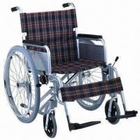 China Wheelchair with Aluminum Frame, Fixed Armrest factory