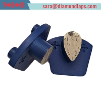 Buy cheap Metal bond PCD Grinding Shoes for concrete from wholesalers