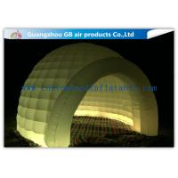 Buy cheap Multi Color Lighting Round Inflatable Air Tent Dome With Oxfor Cloth Material from Wholesalers