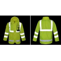 Hoody Raincoat with Reflective Tape Cheap Workwear for Rain Day