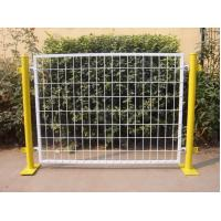 Buy cheap Plastic Coated Temporary Welded Wire Mesh Fence Panels 50*100 MM Mesh Size from Wholesalers