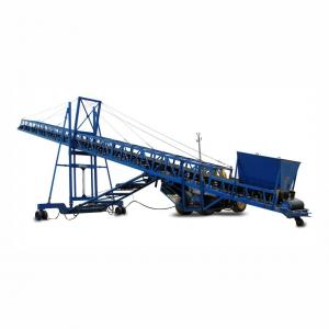 China Continuous Conveying Hoisting Machine Mechanical Mobile Belt Conveyor factory