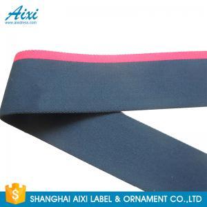 China Printed Logo Jacquard Elastic Waistband Men's Underwear Woven Elastic Tape factory