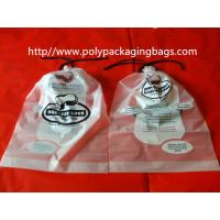 Buy cheap Garment / Pillow Packaging Poly Bag Clear Drawstring Plastic Bags from Wholesalers