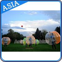 China Waterproof / Fireproof New Style Bubble Soccer Football With 1.0mm TPU on sale