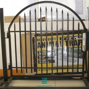 China Wrought Iron Garden Fence Panels , Galvanizing Wrought Iron Fence Gate on sale