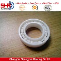 Buy cheap ZrO2 17*35*10 mm ball bearing ceramic bearing 6003CE from Wholesalers