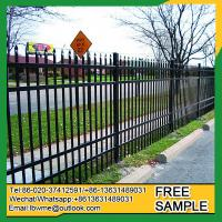 China Atlanta steel palisade fence designs StatenIsland modern cast iron fence on sale