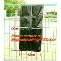 China Waterproof, Garden, Patio Plant, Flower, Grow Bags, 8 Pockets, Pouch, Hanging Planter factory