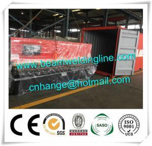 China 3200 Hydraulic Shearing Machine For Carbon Steel , Swing Shearing Machine QC12Y factory