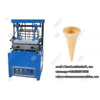 China Automatic Ice Cream Cone Baking Machine, Cake Cone Maker Stainless Steel on sale