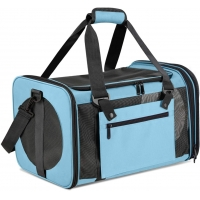 China Polyester Dog Crate Multi Functional Sport Bags Airline Approved factory