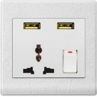 China USUN-Manufacturer electrical plugs and sockets usb wall socket  automatic switch save your energy factory