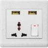 Buy cheap Usuny N72 UK Hotel usb wall USB wall socket with 2 usb charging ports from wholesalers