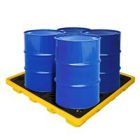 China EPA Standard PE Drum Spill Containment Pallet, Oil Spill Tray 1300*1300*150 mm on sale