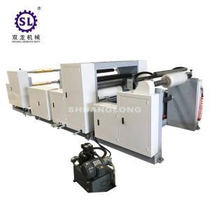China Plastic Embosser  Industrial Embossing Machine For Vacuum Packing Film factory