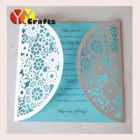 Buy paper lace floral wedding and festival invitation cards and quality paper lace floral wedding and festival invitation cards and handmade greeting cards with the bow m4hsunfo