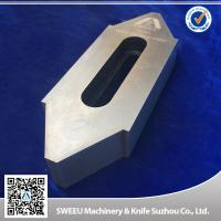 Buy cheap Wear Resistance Plastic Granulator Blades For Copper Cutting High Intensity from Wholesalers