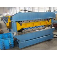 Buy cheap 1200mm width Metal Sheet Cold roll Forming Equipment Double Layer with European Standard from Wholesalers