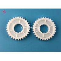 China White Hitachi ATM Parts BV Gear 30T Plastic Material With ISO Certification factory