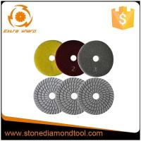 Buy cheap Wet & Dry Use Abrasive 3 Step Diamond Flexible Sprial Resin Polishing Pads from Wholesalers