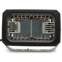 China 7inch Rectangle led Driving lamp with Yellow Angle Eye 40W HCW-L40292A 7D factory