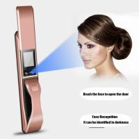 Buy cheap Face Recognition Intelligent Door Lock Home And Office Anti Theft Use from Wholesalers