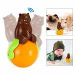 Buy cheap Pet Tumbler Toy music tumbler toy shaking around pet bear funny tumbler dog cat toys from Wholesalers