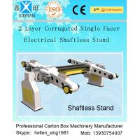 Buy cheap Auto Carton Packing Machine Single Facer Corrugated Paperboard Production Line from Wholesalers