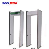 China Foldable Multi Zone Walk Through Metal Detector 2 Years Warranty With Automatic Counting Function factory