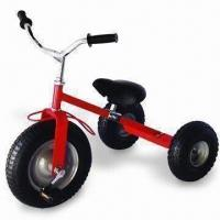 China Three-wheel Bicycle with Good Steady and 80kg Loading Capacity, Suitable for Children factory