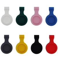 China Small Waist Silicone Protective Cover , Dog Airtag Metal Case factory