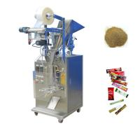 China Wood Packaging Chocolate Packing Machine , Electric Driven Salt Packing Machine factory