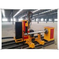Buy cheap 25kw Cnc Pipe Flame Cutting Machine 3 Axis Two Linkage Axises Intersection Cutter from Wholesalers