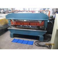 Buy cheap CE Customized Two Profile Wall Panel Roll Forming Machine For Roof  440V from Wholesalers