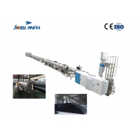 China 55kw Single Screw PE PP ABS PET PER PS Pipe Extrusion Machine on sale