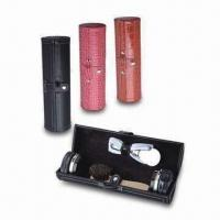China Shoe Polish Kit/Shoe Shine Care Products with PU Leather Case, Ideal for Different Types of Shoes on sale